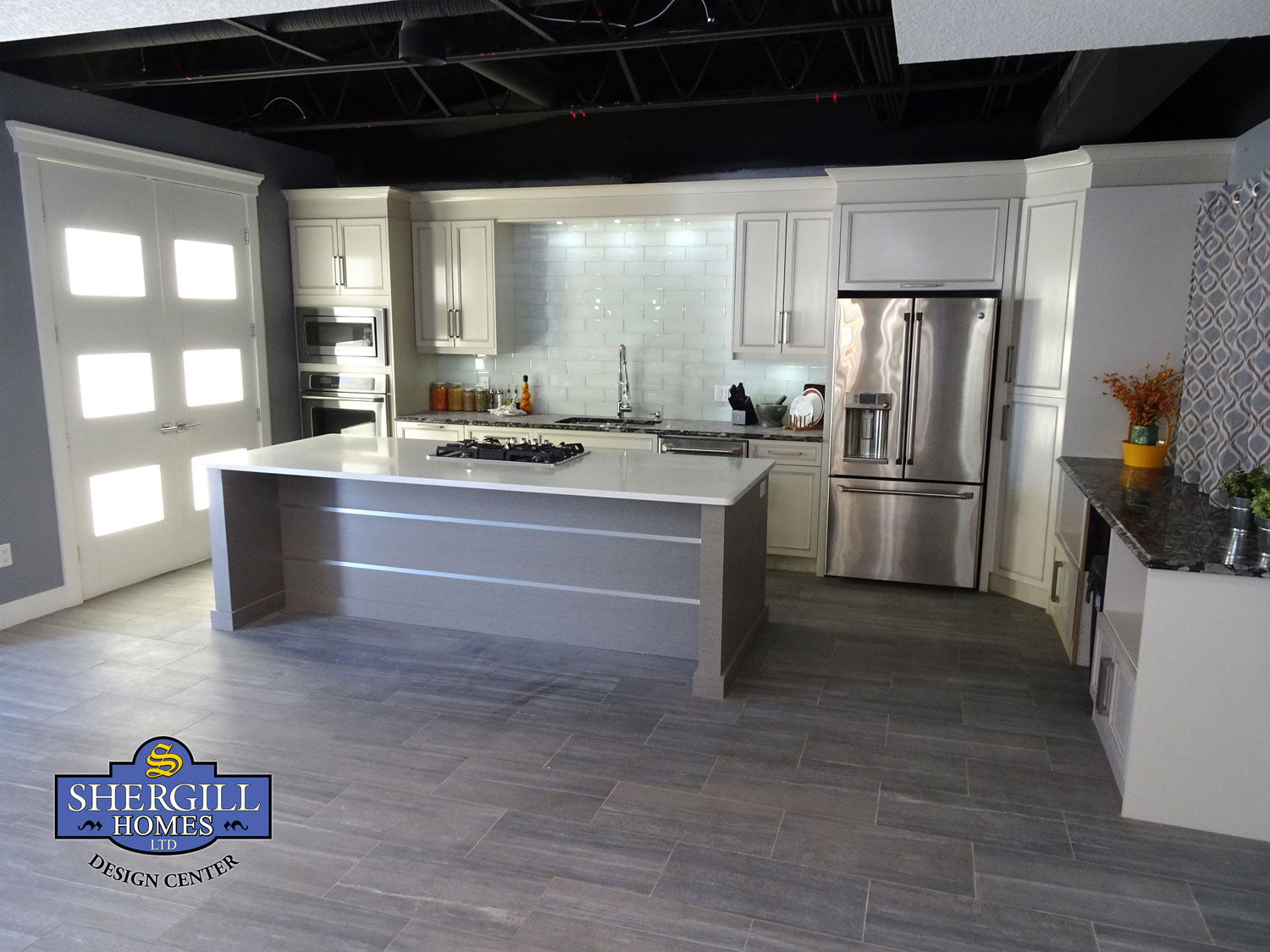 Shergill Homes Design Center - Kitchen Mock up (Fort McMurray Home Builders)