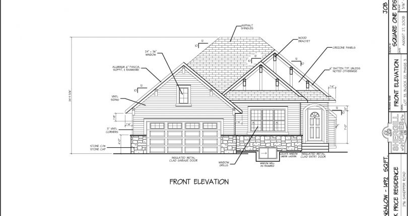 Bungalow-1492-sqft-front-elevation