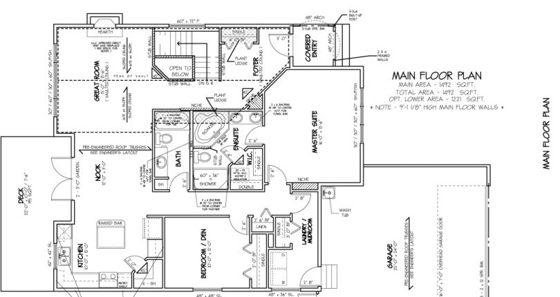 Bungalow-1492-sqft-main-floor-plan