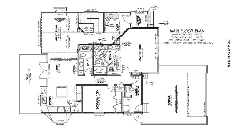 Bungalow-1492-sqft--mainfloor-plan