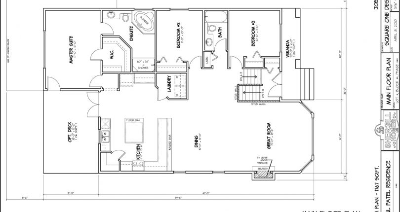 Bungalow-1767-sqft-FloorPlan