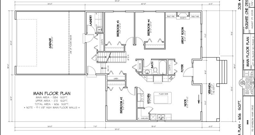 Custom-Bungalow-Bi-Level-double-garage-1659sqft-main-floorplan