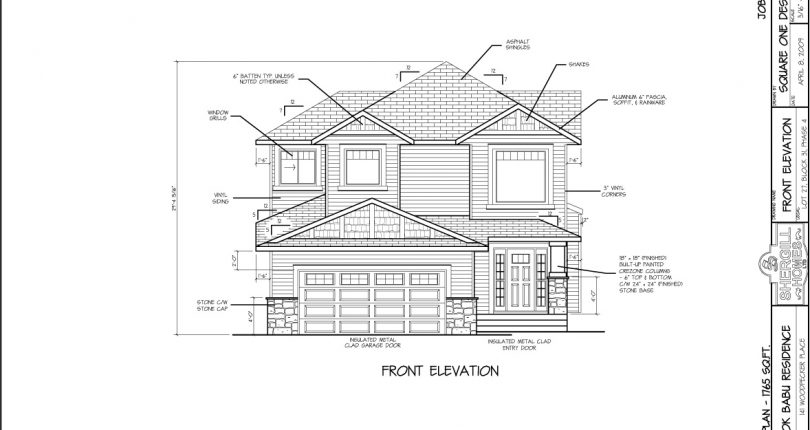 FrontView-Ashok-Babu-resindence-Two-Storey-1765-sqft-Shergill-Homes-Fort-McMurray
