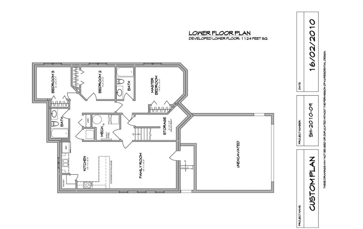 Shergill Homes - Plans for Fort McMurray / Fort Mac; Two Storey Marco 1763 sq ft Lower Floor Plan