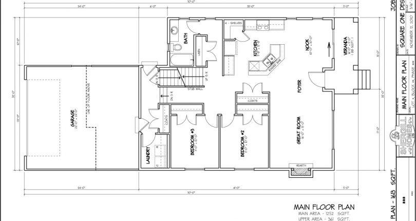 Modified-Bungalow-1613sqft-rear-garage-mainfloorplan