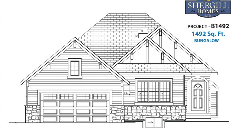 ProjectB-1492-sqft-front-elevation-Shergill-Homes-FortMcMurray-FortMac