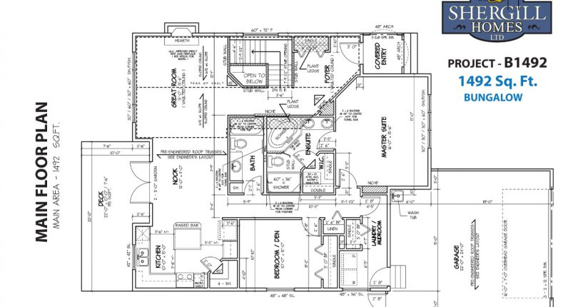 ProjectB-1492-sqft-main-floorplan-Shergill-Homes-FortMcMurray-FortMac