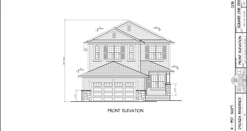 Serena-III-3-1957-sqft-two-storey-front-elevation-Shergill-Home-Fort-McMurray