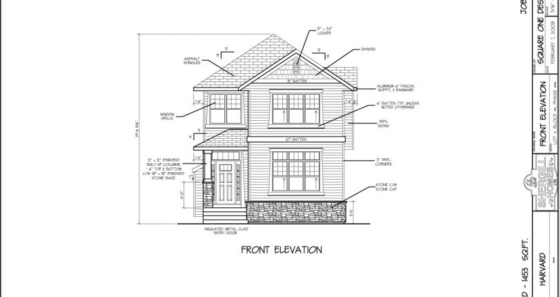 The-Harvard-1453-sqft--two-store-Front-Elevation-Shergill-Homes-Fort-McMurray