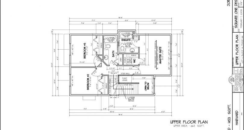 The-Harvard-1453-sqft--two-store-upper-floorplan-Shergill-Homes-Fort-McMurray