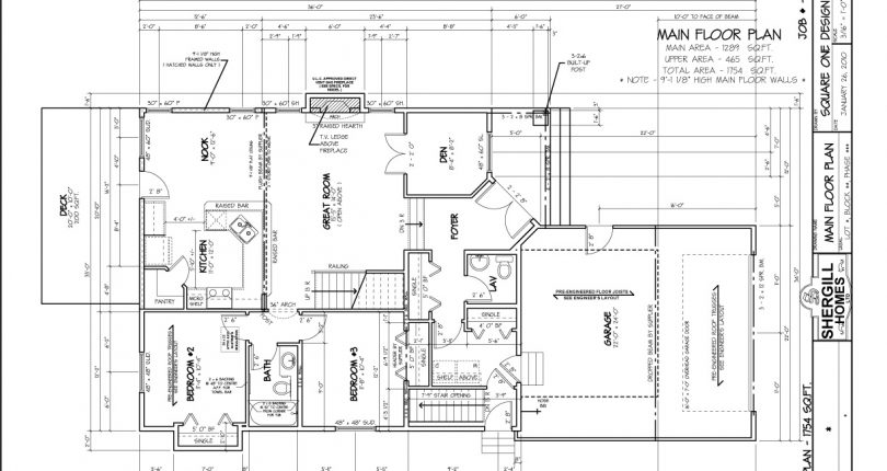 Two-Storey-1754-sqft-Main-FloorPlan-Shergill-Homes-Fort-McMurray