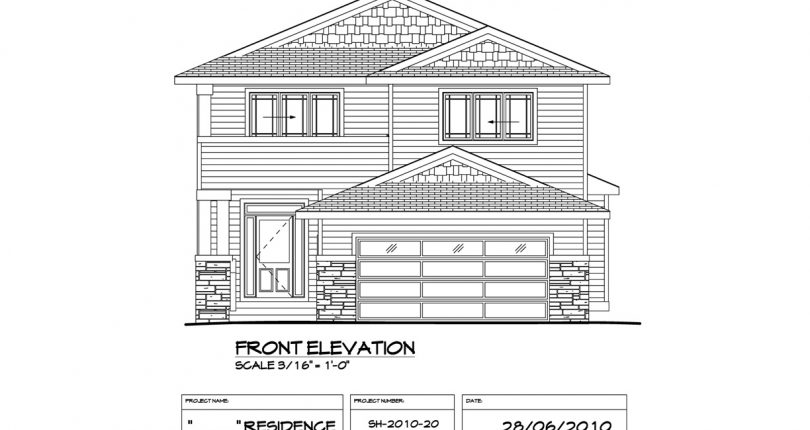 Two-Storey-1932-sqft-FrontView-Shergill-Homes-Fort-McMurray