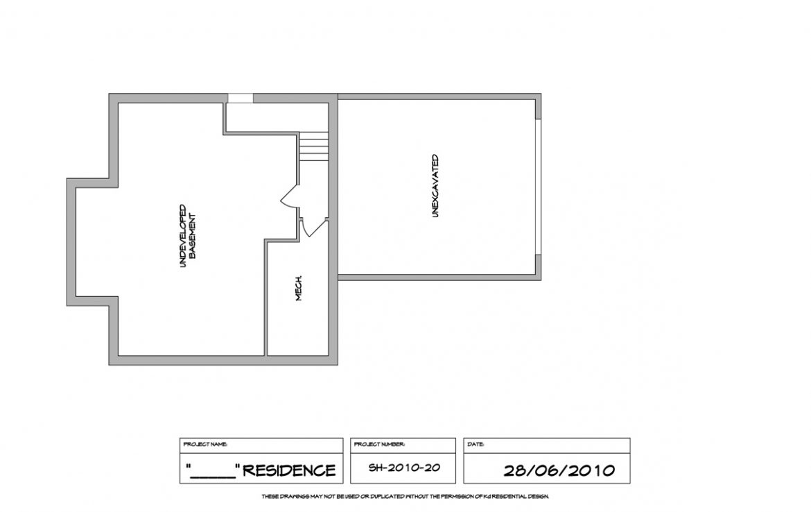 Shergill Homes - Plans for Fort McMurray / Fort Mac; ; Two Storey 1805 sq ft undeveloped basement