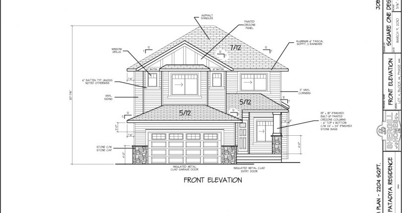Two-Storey-2204-sqft-front-elevation-Shergill-Homes-Fort-McMurray