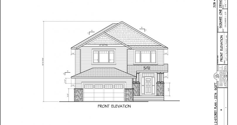 Two-Storey-2274-sqft-front-elevation-Shergill-Homes-Fort-McMurray